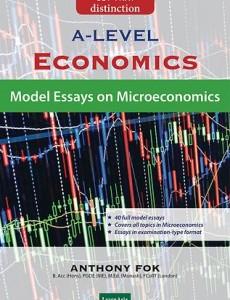 GCE 'A' Level Economics: Model Essays on Microeconomics