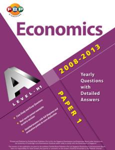 GCE 'A' Level Ten Year Series H1 Economics